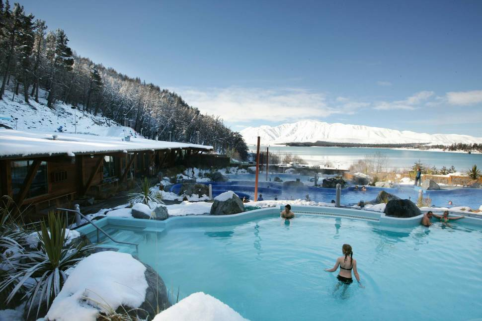 Tekapo Springs Hot Pools in New Zealand - Best Time