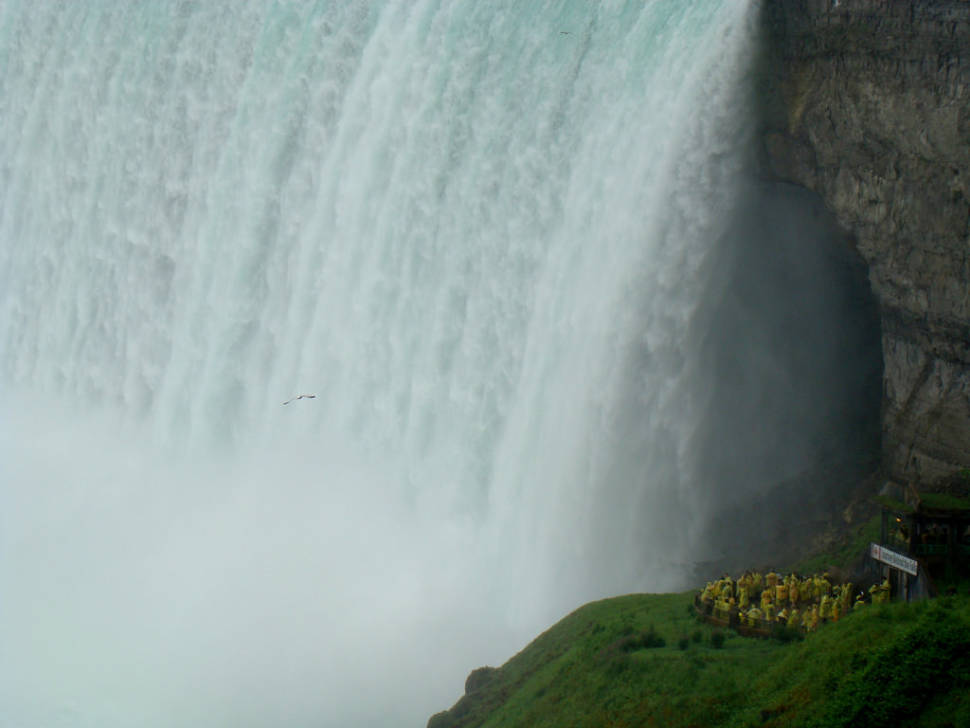 Journey Behind the Falls in Niagara Falls - Best Season