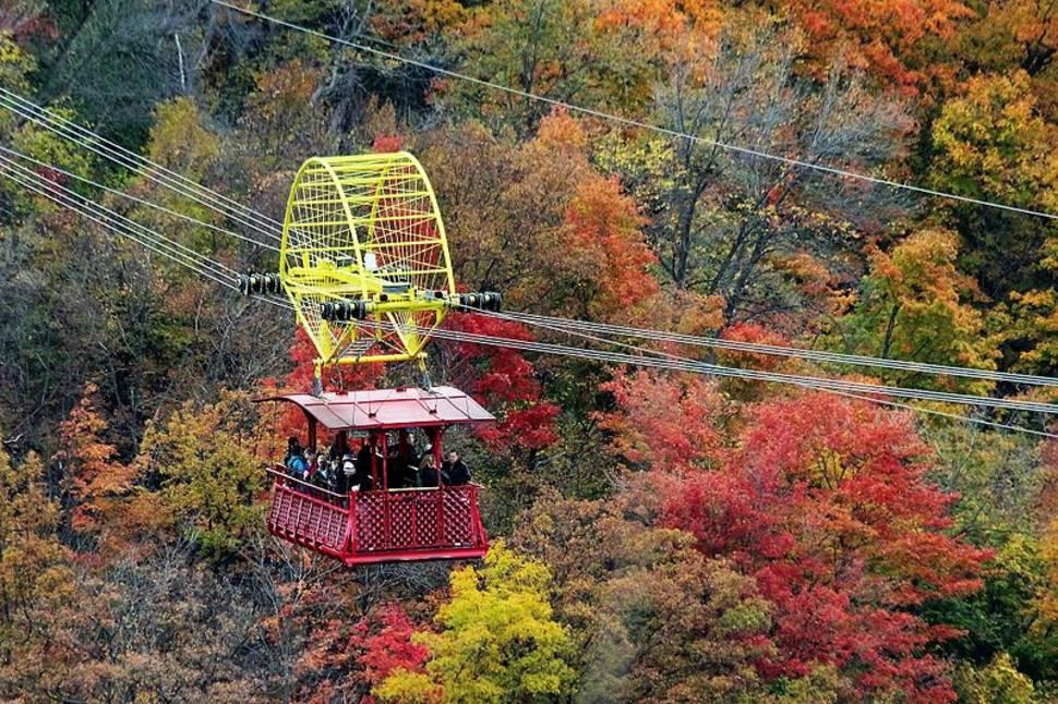 Best time for Whirlpool Aero Car in Niagara Falls