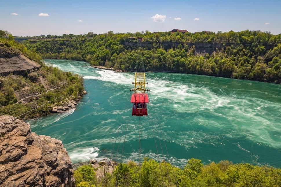 Whirlpool Aero Car in Niagara Falls - Best Season