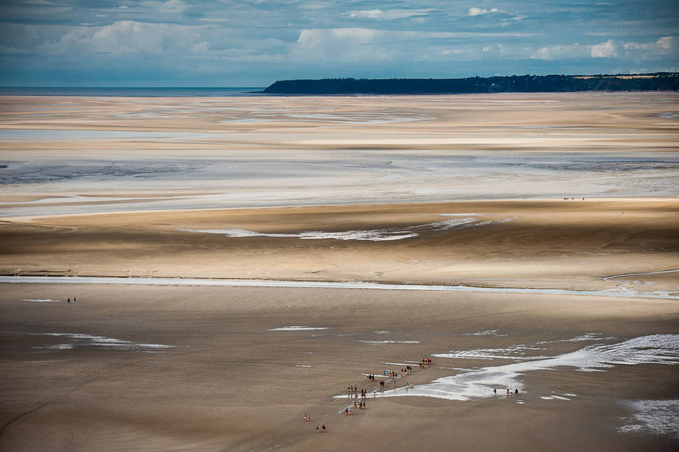 Best time for Mont Saint Michel Tide in Normandy
