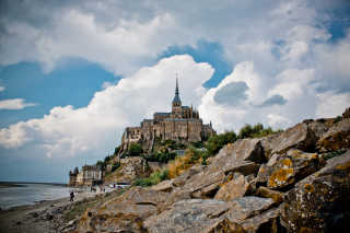 Mont Saint Michel Tide