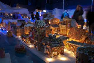 Bergen's Gingerbread Town