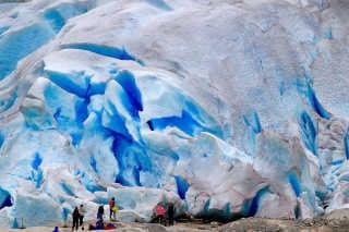 Blue Ice Walking