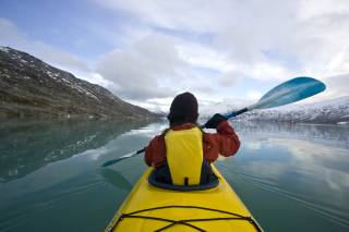 Glacier Lake Kayaking