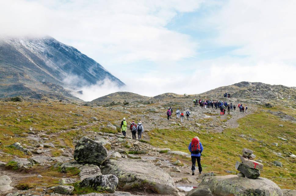 Hiking in Jotunheimen National Park in Norway - Best Season