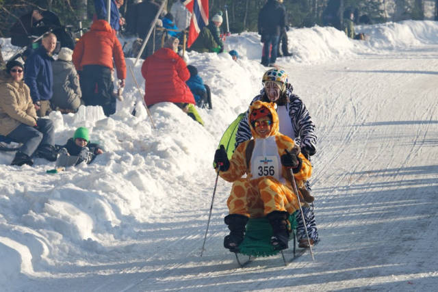 Kicksled World Championship in Norway - Best Time