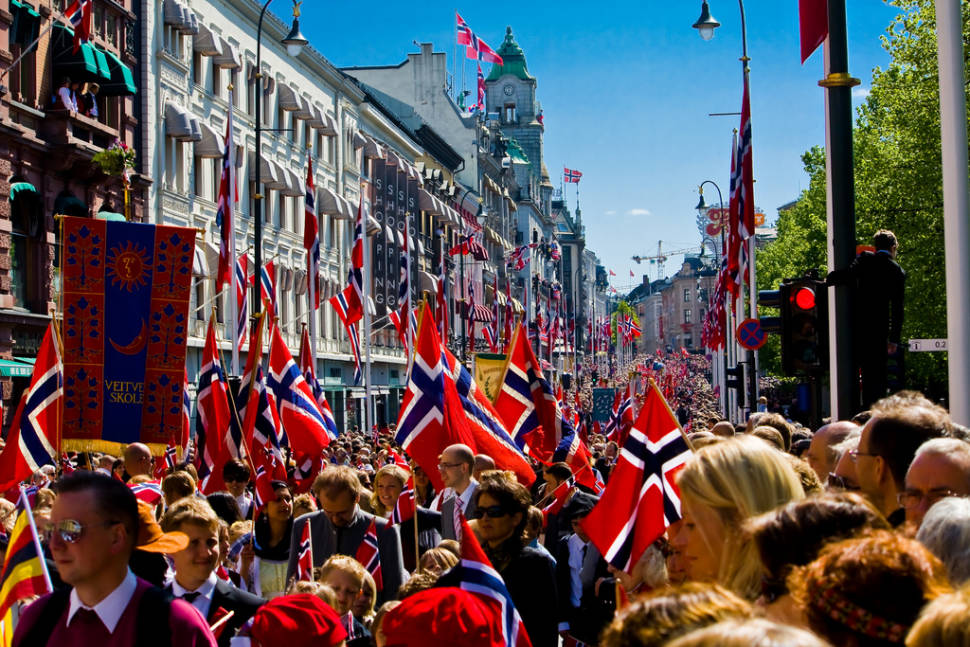 Best time for Norway's National Day in Norway