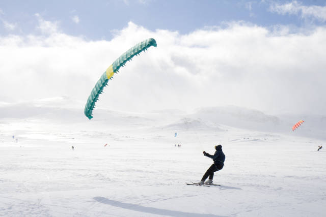 Snow Kiting in Norway - Best Time