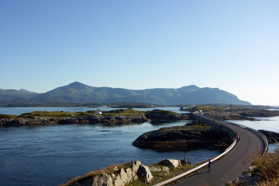 Best time to see The Atlantic Ocean Road in Norway