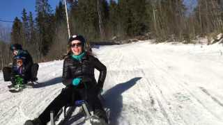 Tobogganing in Korketrekkeren