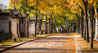 Autumnal Père Lachaise Cemetery