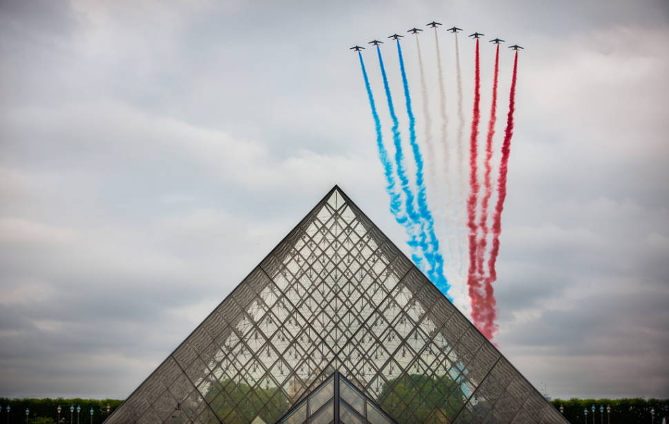 Best time for Bastille Day or La Fête Nationale in Paris