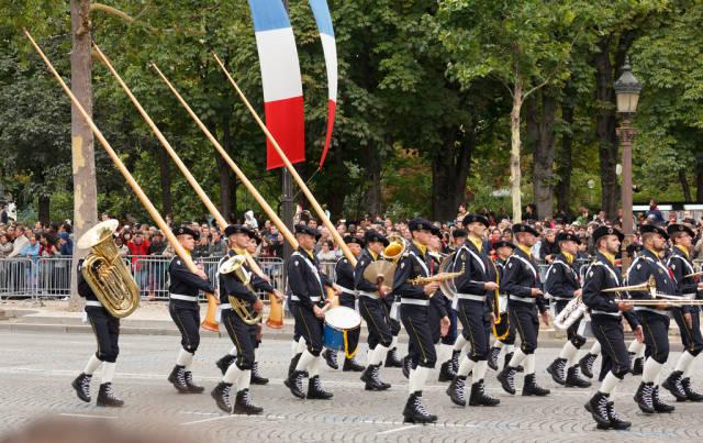 Best time to see Bastille Day or La Fête Nationale in Paris