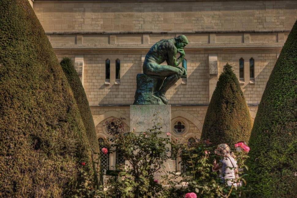 The Thinker, Musée Rodin, Paris, France