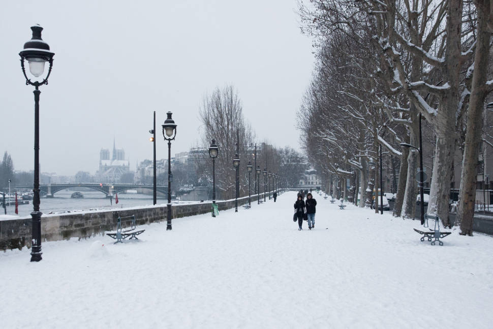 Winter in Paris - Best Time