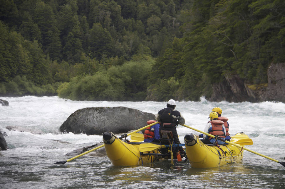 Best time for White Water Rafting in Patagonia
