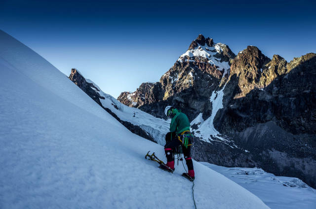 Best time for Ice Climbing in Peru