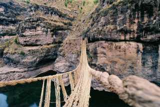 Q'eswachaka Bridge Weaving