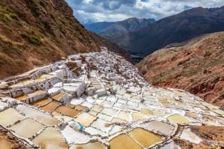 Salt Harvest at Salinas de Maras