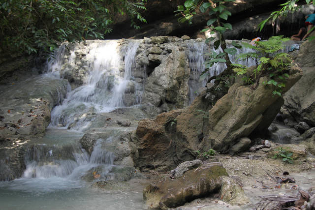 Best time to see Aguinid Falls in Philippines