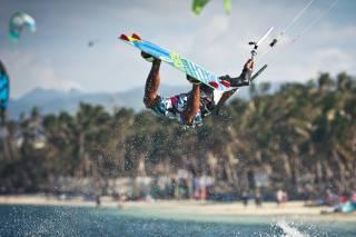 Kitesurfing on Boracay