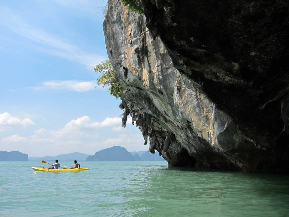 Best time for Kayaking in Phang Nga Bay in Phuket