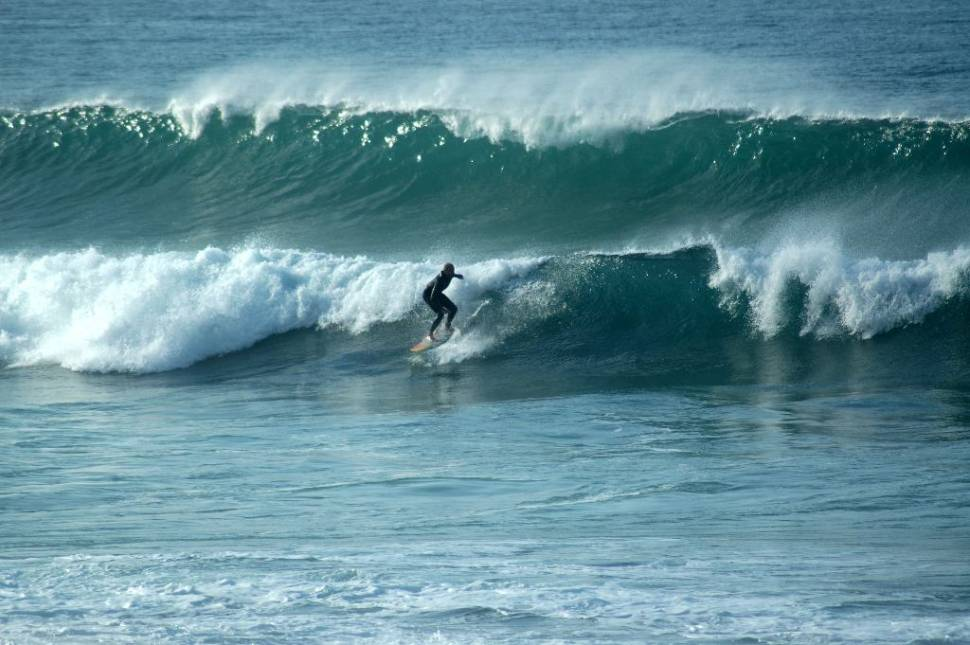 Best time for Surfing Atlantic in Portugal