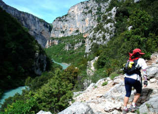 Hiking in Gorges du Verdon