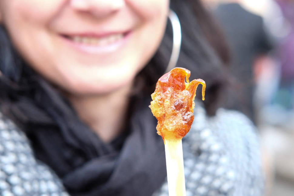 Maple Taffy in Quebec - Best Time