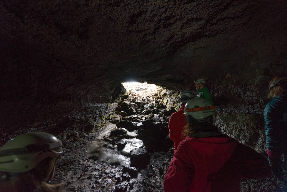Best time to see Caving in Leiðarendi Lava Tube in Reykjavik