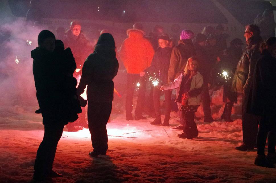New Year's Bonfires in Reykjavik - Best Season