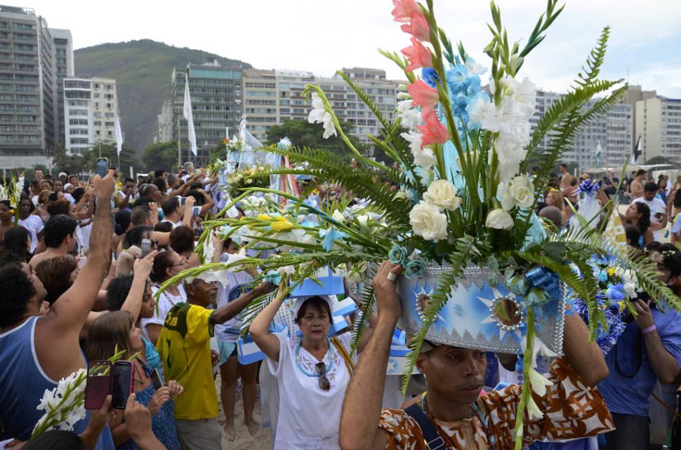 Best time for Festa da Iemanjá in Rio de Janeiro