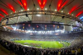 Football at Maracanã Stadium