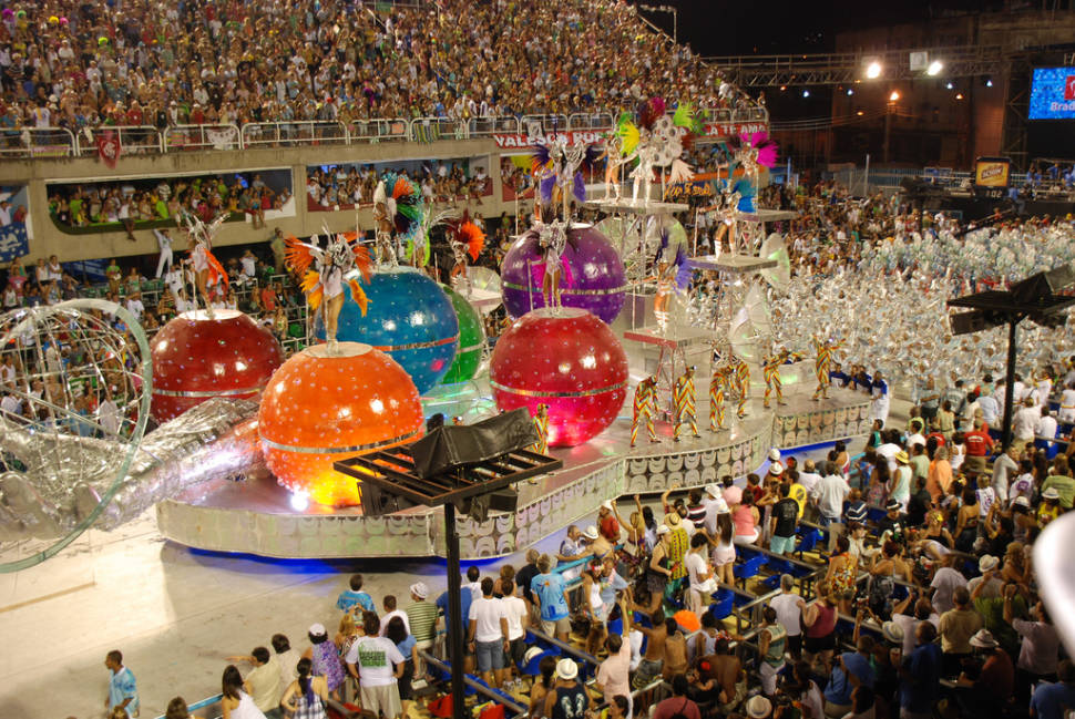 Best time for Rio Carnival in Rio de Janeiro