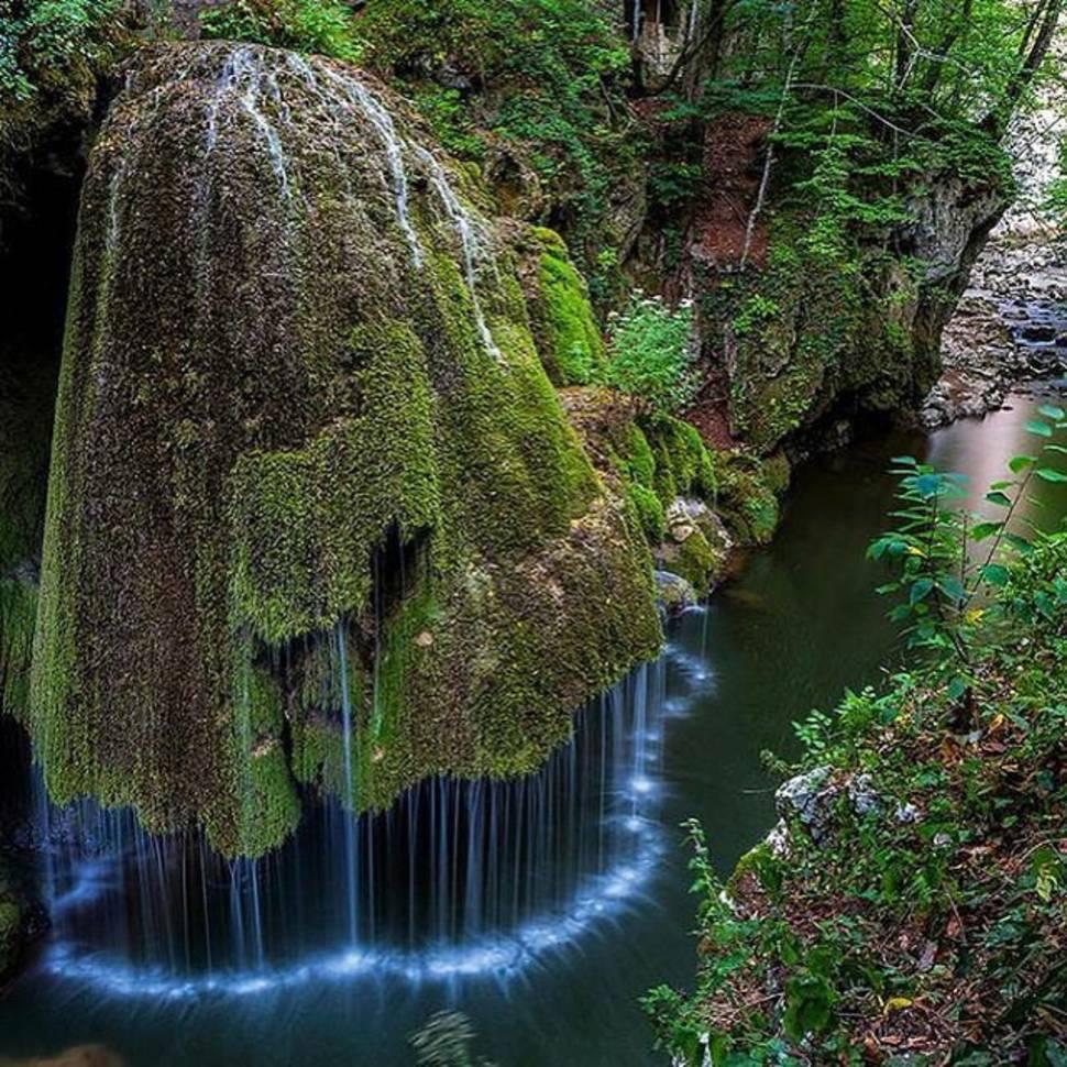 Bigar Waterfall in Romania - Best Time