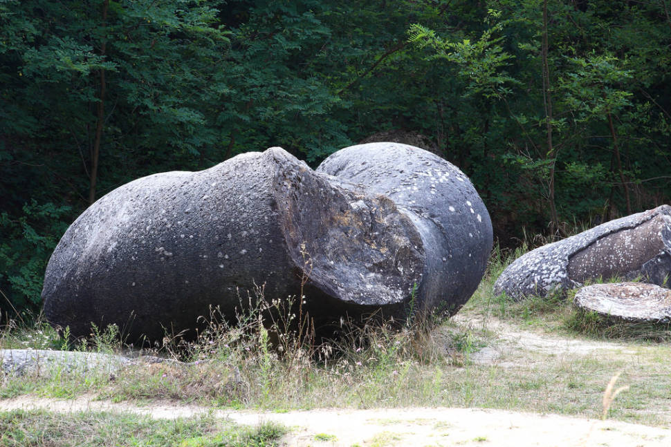Best time for Growing Stones or Trovants in Romania