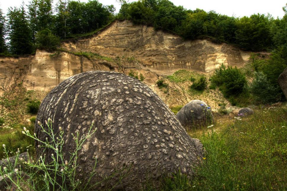 Growing Stones or Trovants in Romania - Best Season