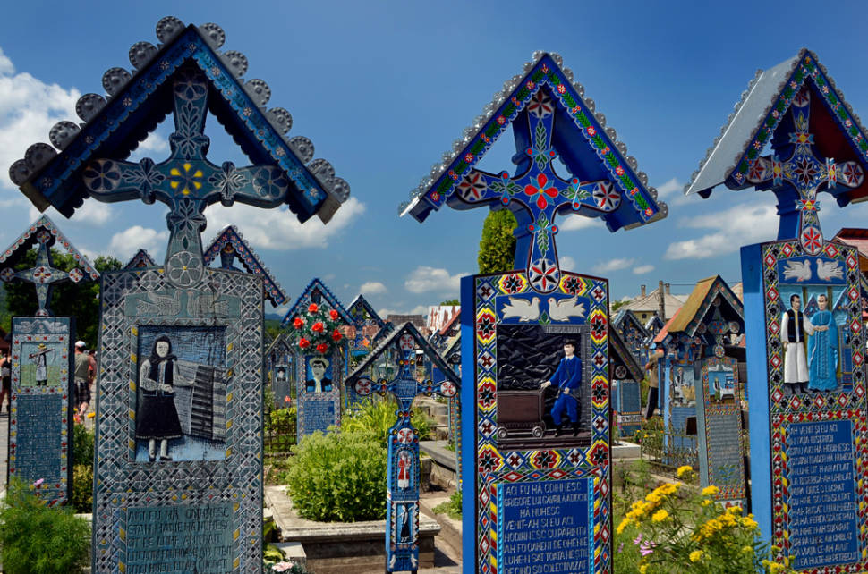 Best time to see Merry Cemetery in Romania