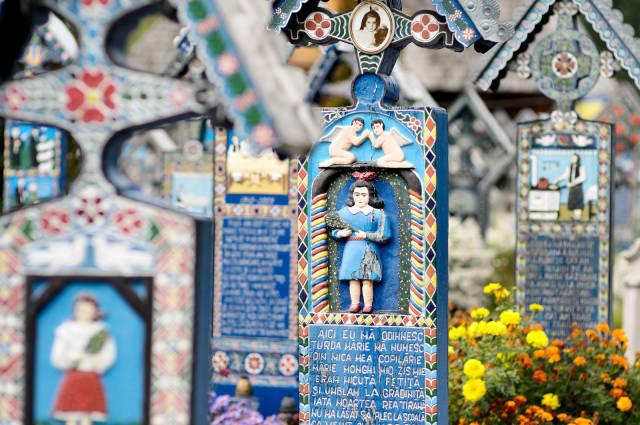 Merry Cemetery in Romania - Best Time