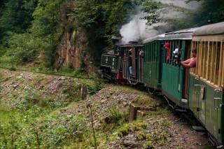 Mocăniţa Steam Train