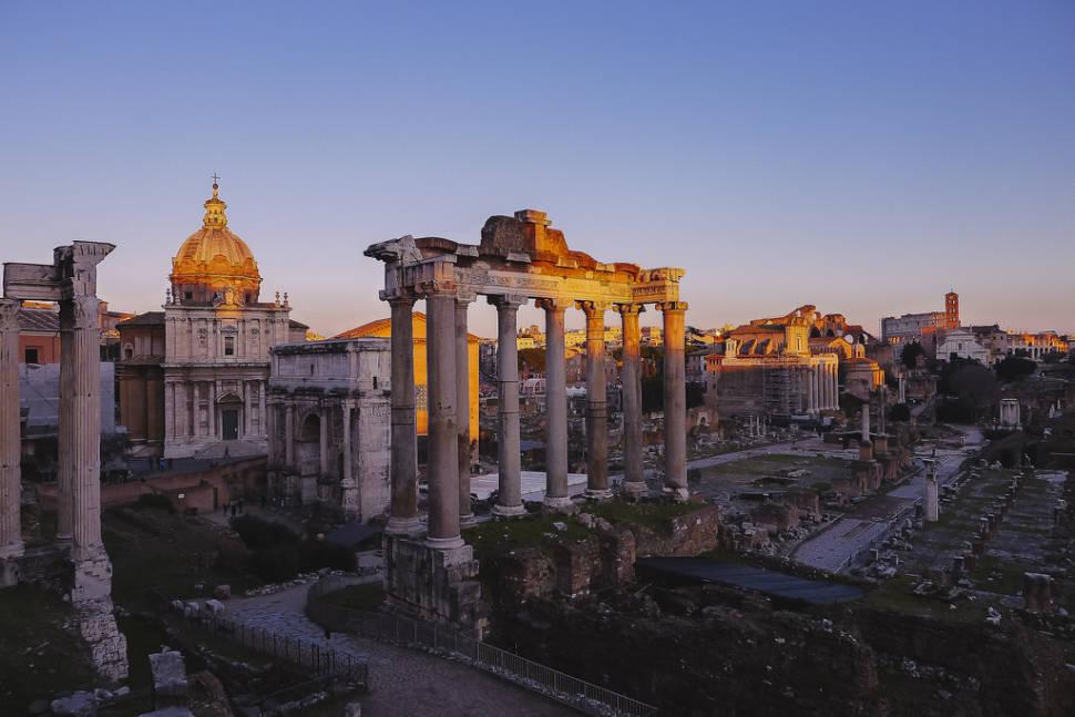 Winter Sunsets in Rome - Best Season