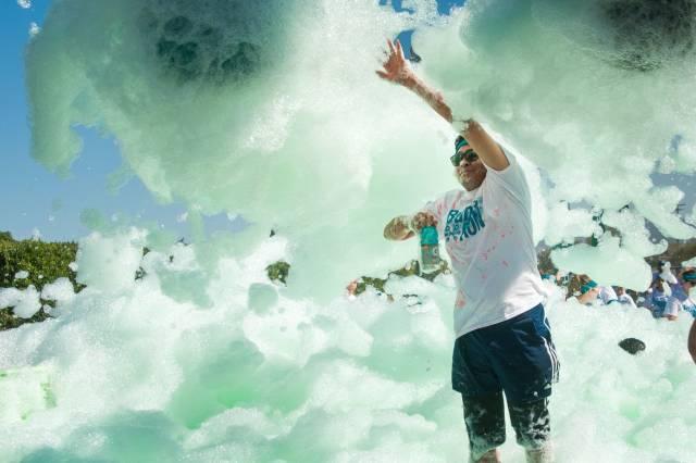 Bubble Run in San Diego - Best Season