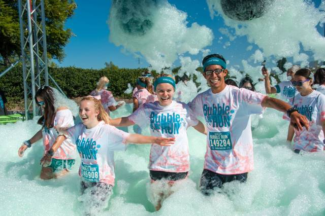Best time for Bubble Run in San Diego