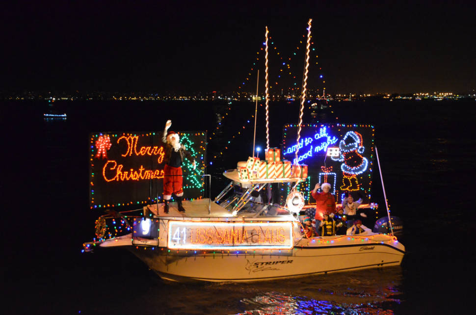 san diego bay parade of lights other holiday lights in san diego best season - Best Christmas Lights In San Diego