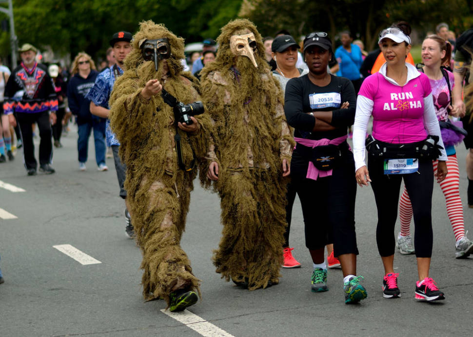 Best time for Bay to Breakers in San Francisco