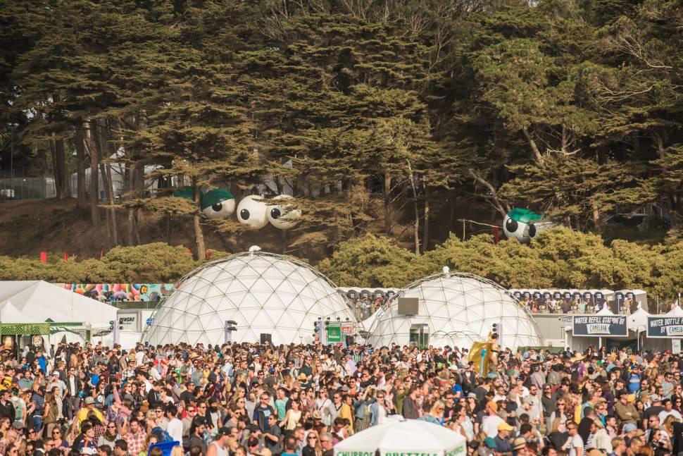 Best time for Outside Lands Music and Art Festival