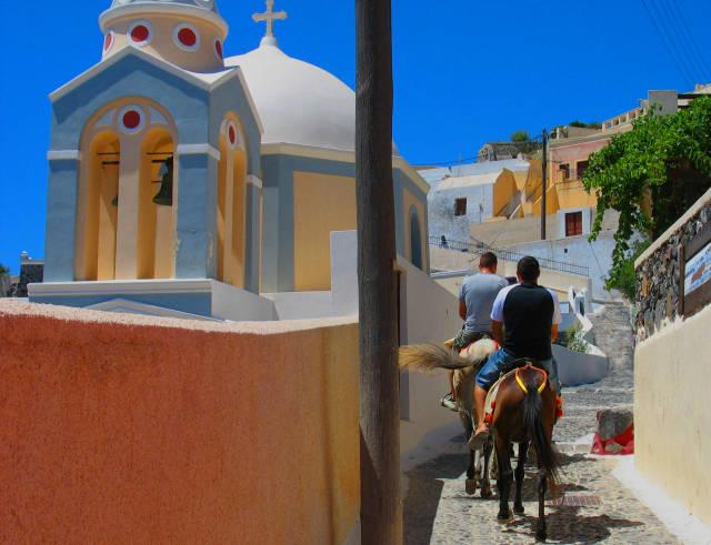 Donkey Ride in Santorini - Best Time