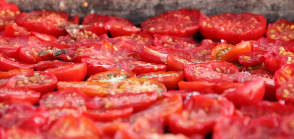 Santorini Cherry Tomatoes in Santorini - Best Season