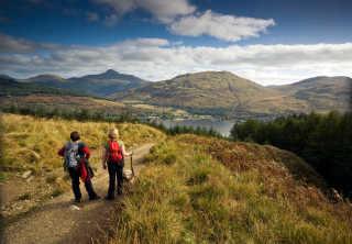 Hillwalking or Munro Bagging